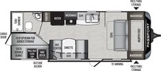 Take a closer look at the Passport travel trailer model floorplan. Lightweight Travel Trailers, New Travel Trailers, Camping Trailers, Keystone Passport, Keystone Rv, Fiberglass Insulation, Floor Insulation, Tub Shower Combo, Shower Tub
