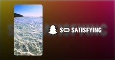 So Satisfying | Snapchat Snapchat, Iphone