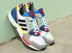 "adidas ZX 9000 ""Memphis Group"" - SneakerNews.com"