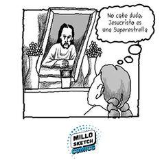 Jesus Christ Superstar #Comics #Arte #Illustration #Storytelling #Drawing #Portrait #Frame