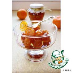 Варенье из апельсиновых корочек Апельсин — 3 шт Вода — 400 мл Сахар — 300 г Лимонная кислота (половина неполной ч.л.) — 0,5 ч. л. Имбирь