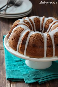 Cinnamon Streusel Coffee Bundt Cake Recipe from bakedbyrachel.com