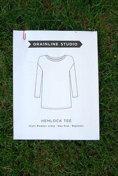 Grainline Studio Hemlock Tee