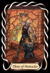 3 of Pentacles