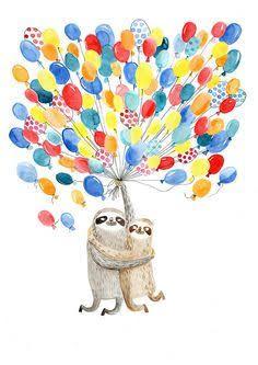 cute baby sloth illustration - Google Search
