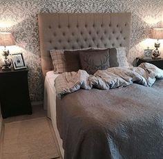 Gedeckte Farben, Klassische Looks, Nordischer Stil, Schlafzimmer, Nobel,  Trautes Heim, Tapete