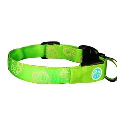 $12.83-$25.99 You'll always be able to see your dog when they are wearing this collar with built-in LED lights. You won't have to remember to grab a flashlight when you take them out for a walk after sunset. The glowing collar will make it easy to see your pup as they