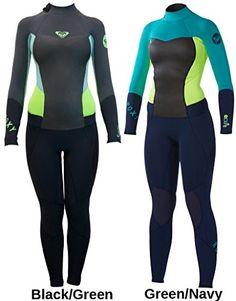 4/3mm Women's Roxy SYNCRO Full Wetsuit - 8