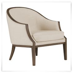 City Furniture: Kensie Beige Fabric Accent Chair