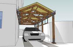 Resultado de imagen para techos para entradas de casas