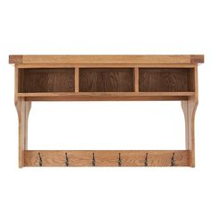 Oakham Oak Hall Shelf Unit