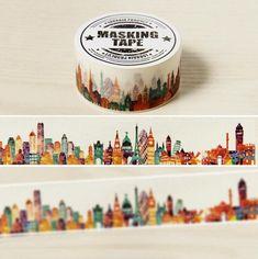city scape tape