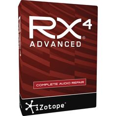 iZotope RX 4 Advanced - Audio Restoration and Enhancement Software (Download)