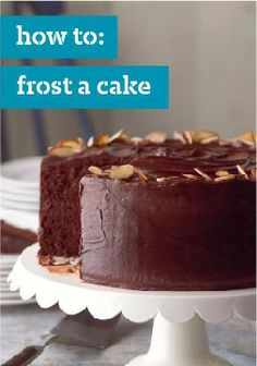 How to: Frost a Cake – Follow these tips and you can have a cake that looks like it came from a bakery!