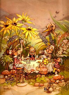 Peg Maltby *~❤•❦•:*´`*:•❦•❤~* Fairie Folk.