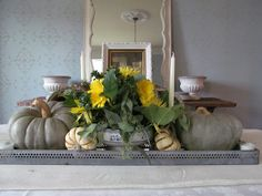 Cheeky in Blue…Thanksgiving Table Scape