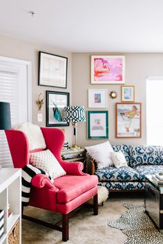 New Home Tour on Design*Sponge!Life with a Dash of Whimsy