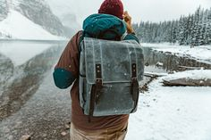 The Camps Bay backpack with Ryan Longnecker in Banff National Park