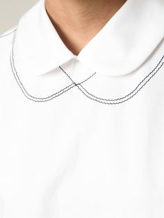 Comme Des Garçons Comme Des Garçons Peter Pan Collar Shirt - Societe Anonyme - Farfetch.com
