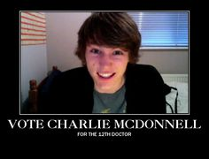This needs to happen. (For those of you who don't know who he is, look up charlieissocoollike on youtube, or check out his band, Chameleon Circuit, which is all Doctor Who songs)