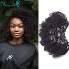 67.86$  Watch here - http://aliaj1.worldwells.pw/go.php?t=32712298156 - Clip In Human Hair Extensions Brazilian Virgin Hair Afro Kinky Curly Clip In Human Hair Extensions 7A African American Clip Ins