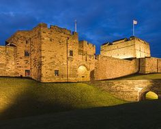 Carlisle Castle, just across the border in Cumbria, in the heart of the city of Carlisle. 20 mins from our B. European Destination, European Travel, Carlisle Castle, Carlisle Cumbria, Chester Cathedral, Time In England, Visit Britain, Castles In England, English Castles