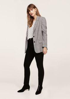 a20711559070f Prince of wales blazer - Plus sizes