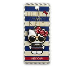Hello Kitty Nautical Keycap With Glasses