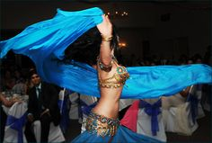 Belly Dancers are a must at Arab weddings!