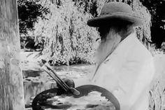 Monet painting - original rare video!