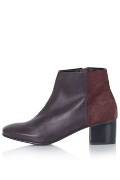 Photo 1 of BENNET Suede Mix Ankle Boots
