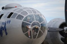 Nose of a B29 Bomber - Last one around....
