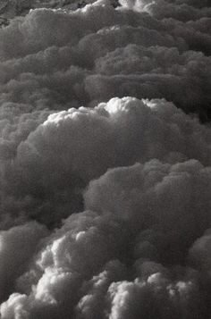 Clouds.  #photography  #blackandwhite
