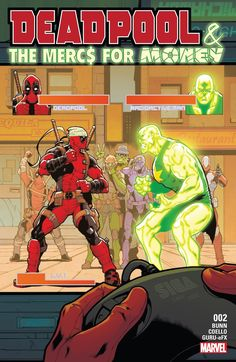 Weird Science DC Comics: Deadpool & The Mercs For Money #2 Review - Marvel Monday