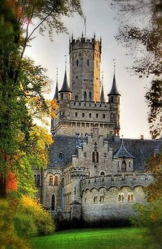 Marienburg Castle is a Gothic revival castle in Lower Saxony, Germany globalkinis.com