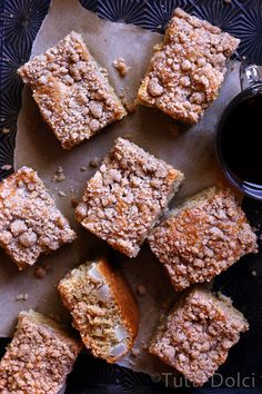 Brown Butter Pear Crumb Cake | Tutti Dolci