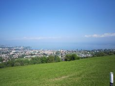 View over Lake Constance and Rorschach