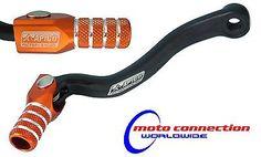 Apico Black Orange Gear Pedal Lever Shifter For KTM SX 125 2002 Motocross Enduro