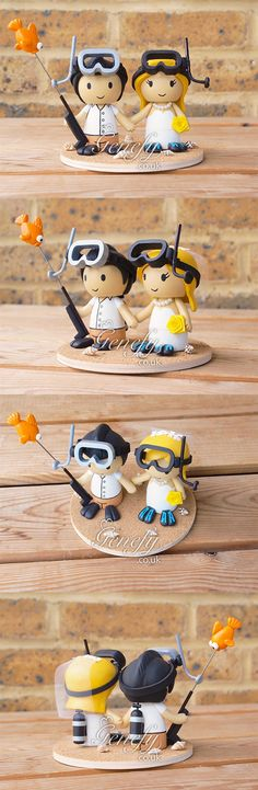 Scuba diving lover couple by Genefy Playground https://www.facebook.com/genefyplayground