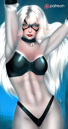 Black Cat - optional NSFW on Patreon by evandromenezes.deviantart.com on @DeviantArt