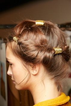 Here's a Hairstyle Idea You Probably Haven't Seen Before