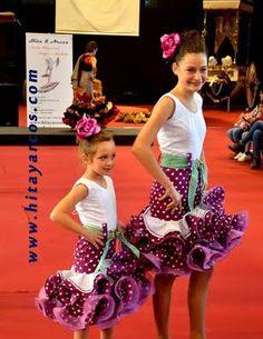Vestido flamenca infantil
