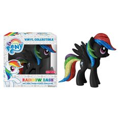 Target Exclusive Black Rainbow Dash Funko Vinyl