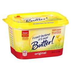 I Can't Believe It's Not Butter Vegetable Oil Spread - 16 Oz. Kids Toy Shop, Toys Shop, Skippy Peanut Butter, Bad Room Ideas, Butter Ingredients, Dairy Free Diet, Butter Popcorn, Nutrition Information, Shopping