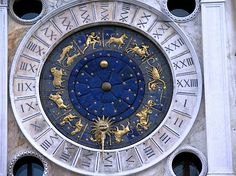 In Venice, there's the famous clock in St Mark's: