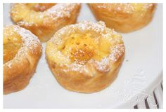 Pastéis De Nata - Portuguese  Pudding-Tartlets - Portugiesische Puddingtörtchen (dt. Rezept)
