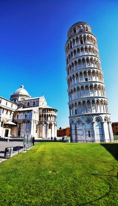 The Famous Leaning Tower of Pisa, Italy
