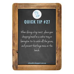QUICK TIP #27 - from The Quick Tips Series by Eliza Ellis