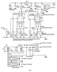 power supply schematic kt88 push