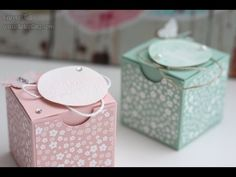 Anleitung: Mini-Box für Marmelade | Stampin' Up! - YouTube